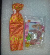 Mattel 2001~*~Amazing Nails Dress and Accessories~*~Very Good Condition