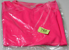 New mens Fruit of the Loom T-Shirt Pink L (tag768)