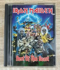 IRON MAIDEN ~ Best Of The Beast ~ Minidisc Album ~ VGC ~ Free Post