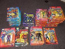 Toy Biz The Uncanny X-Men Action Figure Lot 27 Deadpool, Wolverine, Cable & More