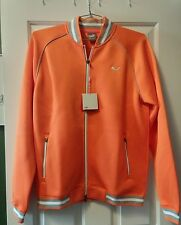 New Puma Script Track Long Sleeve Jacket 2016 ORANGE SIZE MED Rudolf Dassler