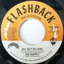 Air Supply: All Out Of Love / Old Habits Die Hard: Near Mint Single From 1980
