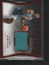 LARRY JOHNSON 2015-16 PANINI LUXE RUBY RED DIE-CUT JERSEY CARD #88   /99