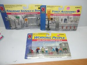 (3) LIFE LIKE PEOPLE& Accessories, 1167, 1140, & 1145, See Pics., NOS, (9429)