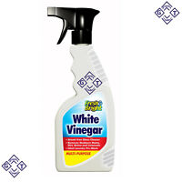 New 800ml Trigger White Vinegar Fresh Bright Glass Laundry cleaner Multi purpose