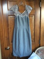 ReBecca Taylor Dress Light Gray Size 8 new