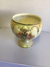 "Crown Devon Fieldings ""Teck"" Pattern Planter  / Vase Blush Ware c1914"