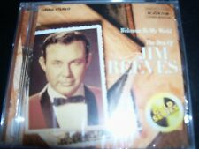 JIM REEVES Welcome To My World: The Best Of Jim Reeves (Gold Series) CD – New