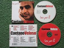 "CAETANO VELOSO ""Loco Por Ti - Greatest Hits in Spanish"" VERY RARE Spain CD + DVD"