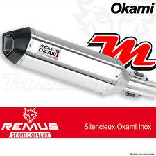 Echappement Remus Okami Inox avec Catalyseur Suzuki DL 650 V-Strom 2012