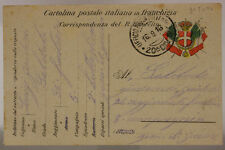 POSTA MILITARE 20^ DIVISIONE 16.9.1916 #XP268E