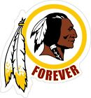 Внешний вид - WASHINGTON REDSKINS FOREVER Sticker | Washington Football Team Decal | HTTR
