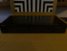 Technics Sh-8017 7 Band Light-up Stereo Graphic Equalizer Eq Works Great