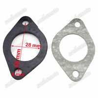 28mm Carb Manifold Intake Gasket For ATV Quad Dirt Pit Bike Scooter Motorcycle