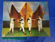 Vintage 1988 MLB Triple Crown Winners 18x24 Poster