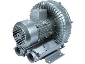 BZT Seitenkanalverdichter 1,1 kW 145 m³/h +190m/bar -150mbar Vakuumpumpe Gebläse