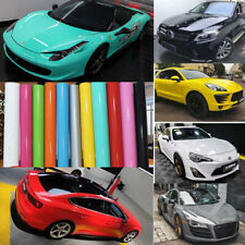 High Gloss Vinyl Car Wrap Vehicle Auto Glossy Film Graphics Decals Bubble Free