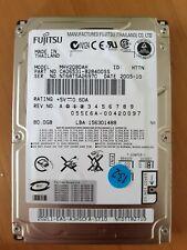 """Fujitsu 80 GB HDD Festplatte MHV2080AH 5400 RPM,2.5"""" IDE/ ATA-100 8MB Hard Drive"""