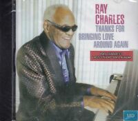 Ray Charles + CD + Thanks For Bringing Love Around Again + 12 starke Songs +