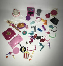 Lot Barbie Accessory Computer Trophy Perfume Food Flowers Cup Cake+++ Vtg&other
