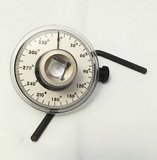 "1/2"" ANGLE METER MEASURER TORQUE ANGLE GAUGE ROTATION"