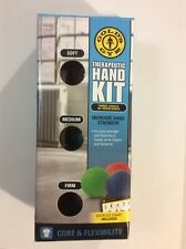 Therapeutic Hand Kit ~ Increase Hand Grip Strength! Golds Gym