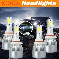 C6 Series For GMC Sierra 1500 2500 HD 2001-2006 -9005+9006 LED Headlight Bulb