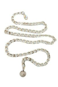 Women Gold Metal Chain Links Cute Belt Coin Charm Casual Dressy Look Size XL XXL