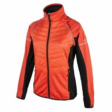 CMP Multi-Sport Vest 2in1 Collar Jacket Orange Primaloft