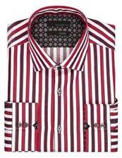 Camisas de vestir de hombre 100% algodón talla 41