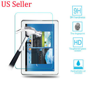 """Tempered Glass Screen Protector Film For Samsung Galaxy Note 10.1"""" N8000"""
