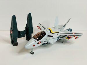 Vintage robotech Matchbox Veritech Fighter jet 1985, Japan, 100% Complete,White,