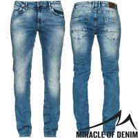 M.O.D Herren Jeans Marcel X-Slim NOS-1004 Hose NEU Extra Slim Fit Leg Denim MOD