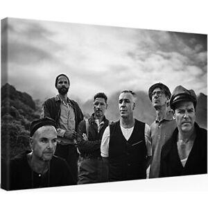 Leinwandbild RAMMSTEIN LINDEMANN 30 x 20 cm SHIRT VINYL TICKET CD Kunstdruck
