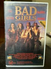 Bad Girls Ex-rental VHS video tape Drew Barrymore Andie MacDowell Womens Western
