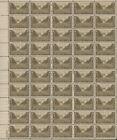 Scott # 934 - Army In World War II - Sheet Of 50 - MNH - 1945