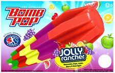 Ice Cream Truck Decal Sticker The Original Bomb Pop Jolly Rancher Popsicle