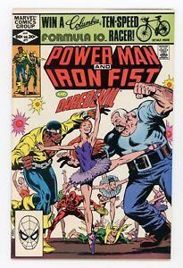 Power Man & Iron Fist #77 JUNE 1982 Luke Cage Daredevil FN/VF Fine/Very Fine 7.0