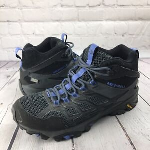 Merrell Moab Hiking Boot FST 2 Mid WP J77518 Women's Size 9 Gray