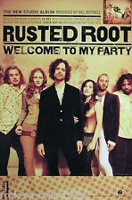 Rusted Root 2002 Welcome To My Party Original Tour Promo Poster
