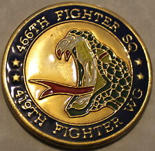 466th Fighter Sq 419th FW Operation NORTHERN WATCH 2000 Air Force Challenge Coin