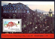 FALKLAND - 1993 - Retrocessione di Hong Kong alla Cina