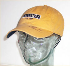 Men's CALLAWAY Golf embroidered cotton ball cap with autograph - one size