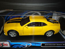 Maisto Chevrolet Camaro RS SS 2010 Bumble Bee Yellow 1/18