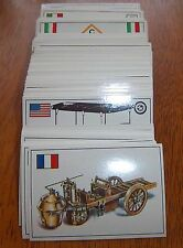 Famous Cars Top Sellers 1970's complete set 285 cards