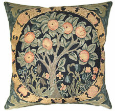 "NEW 18"" WM MORRIS ARTS & CRAFTS ORANGE TREE QUALITY TAPESTRY CUSHION COVER 849"