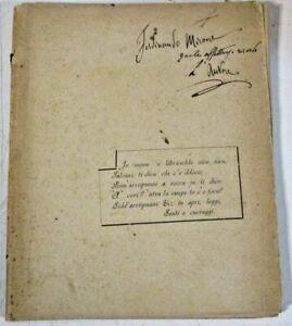 PRIGHERI di MARIU MARINO - C. ED. BATTIATO CATANIA 1894 - SUNETTI SICILIANI