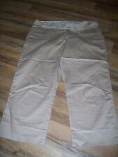 Women's Ladies size 6 Khaki Capri pants ~ Old Navy 6 x 21.5 Crop Clamdigger