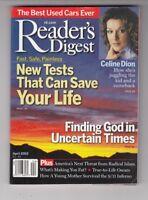 Vintage Reader's Digest Magazine April  2002  Celine Dion Readers Digest   /q9