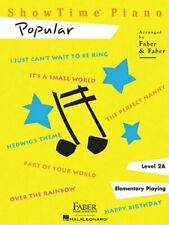 New ListingFaber Showtime Popular Level 2A Piano Music Book - Brand New
